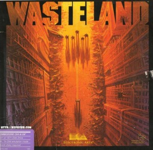 Cover of Wasteland for the Commodore 64
